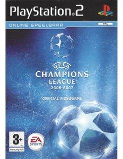 UEFA CHAMPIONS LEAGUE 2006-2007 für Playstation 2 PS2