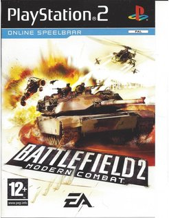 BATTLEFIELD 2 MODERN COMBAT for Playstation 2 PS2