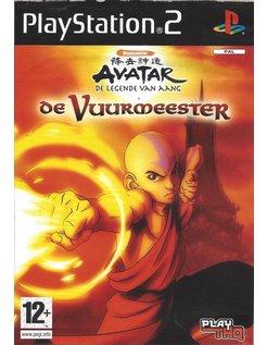 AVATAR DE LEGENDE VAN AANG - DE VUURMEESTER voor Playstation 2 PS2