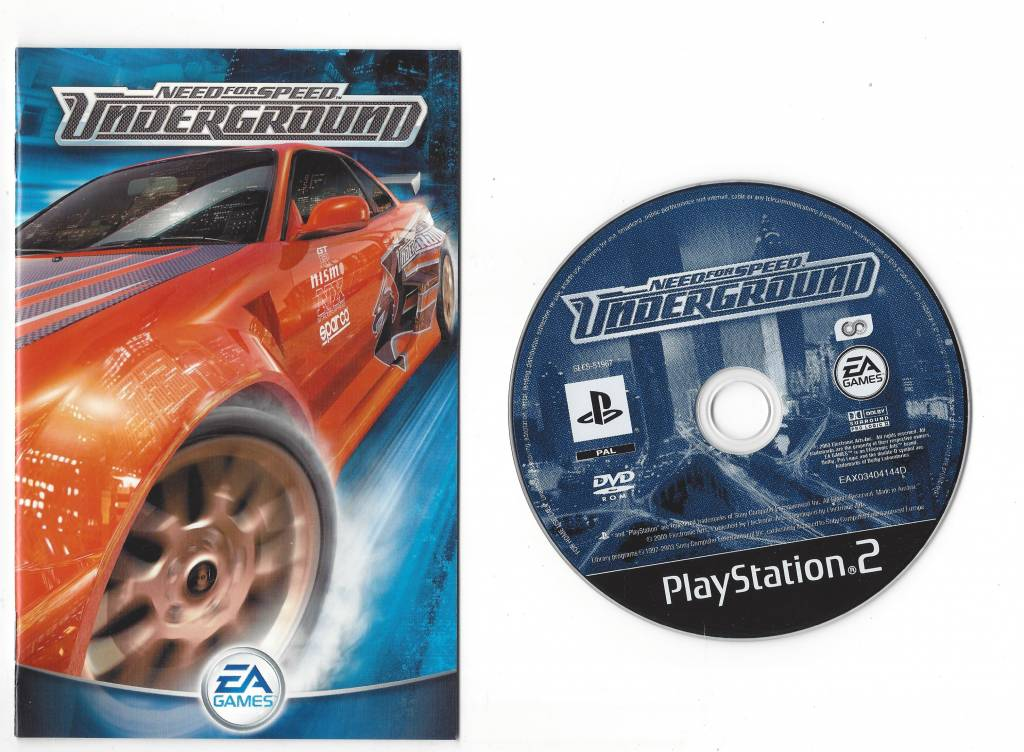 need for speed underground for playstation 2 ps2 passion. Black Bedroom Furniture Sets. Home Design Ideas