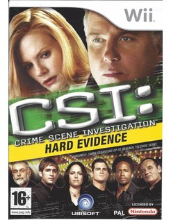 CSI CRIME SCENE INVESTIGATION HARD EVIDENCE for Nintendo Wii