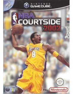 NBA COURTSIDE 2002 for Nintendo Gamecube