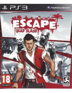 ESCAPE DEAD ISLAND für Playstation 3 PS3 - Anleitung in FR, NL