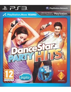 DANCESTAR PARTY HITS for Playstation 3 PS3
