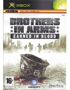 BROTHERS IN ARMS EARNED IN BLOOD for Xbox