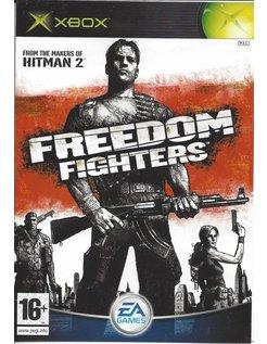 FREEDOM FIGHTERS für Xbox - Anleitung in EN