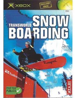 TRANSWORLD SNOWBOARDING for Xbox