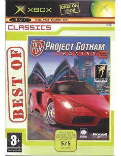 PROJECT GOTHAM RACING 2 for Xbox (Best of Classics)