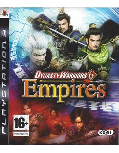 DYNASTY WARRIORS 6 EMPIRES voor Playstation 3 PS3