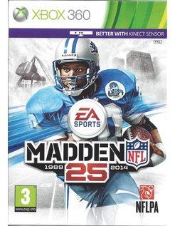 MADDEN NFL 25 for Xbox 360