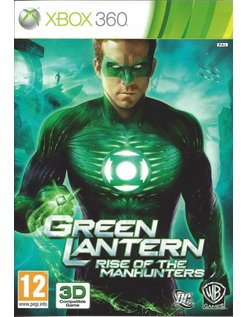 GREEN LANTERN RISE OF THE MANHUNTERS for Xbox 360