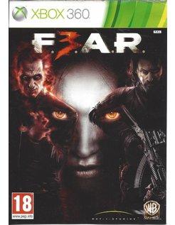 F.E.A.R. 3 FEAR 3 for Xbox 360