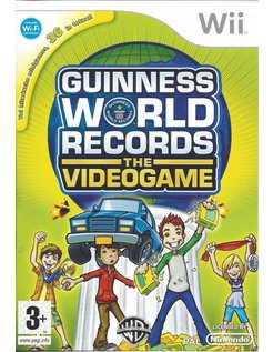 GUINNESS WORLD RECORDS THE VIDEOGAME for Nintendo Wii