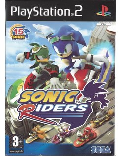 SONIC RIDERS for Playstation 2 PS2