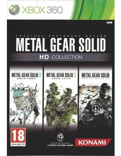 METAL GEAR SOLD HD COLLECTION for Xbox 360