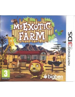 MY EXOTIC FARM for Nintendo 3DS