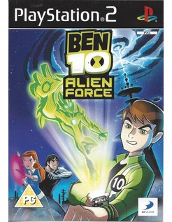 BEN 10 ALIEN FORCE voor Playstation 2 PS2