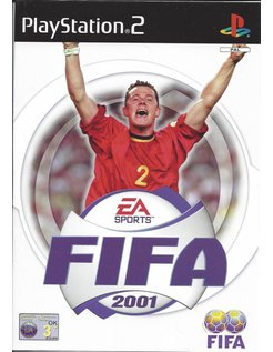 FIFA 2001 for Playstation 2 PS2 - manual in Dutch