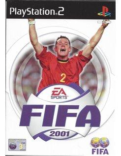 FIFA 2001 für Playstation 2 PS2 - handleiding in het Nederlands