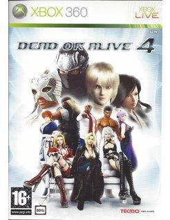 DEAD OR ALIVE 4 voor Xbox 360