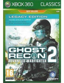 GHOST RECON ADVANCED WARFIGHTER 2 - LEGACY EDITION für Xbox 360