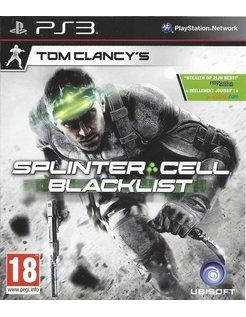 SPLINTER CELL BLACKLIST for Playstation 3 PS3