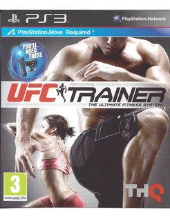UFC PERSONAL TRAINER for Playstation 3 PS3