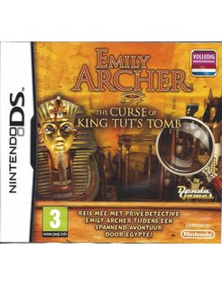 EMILY ARCHER THE CURSE OF KING TUT'S TOMB for Nintendo DS