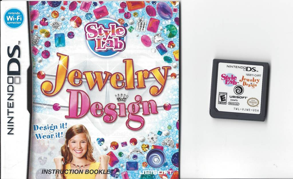 Style Lab Jewelry Design for Nintendo DS NDS Passion for Games