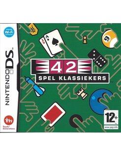42 SPEL KLASSIEKERS for Nintendo DS