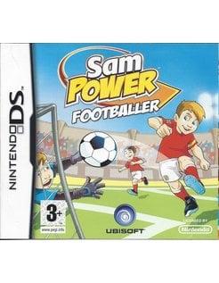 SAM POWER FOOTBALLER for Nintendo DS