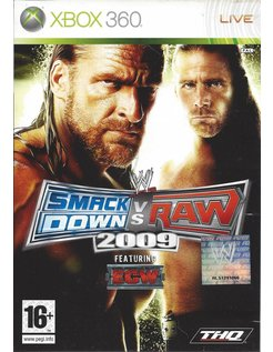 WWE SMACKDOWN VS RAW 2009 for Xbox 360
