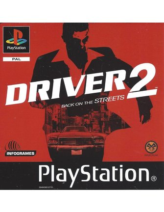 DRIVER 2 for Playstation 1 PS1