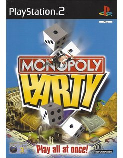 MONOPOLY PARTY for Playstation 2 PS2 - manual in English