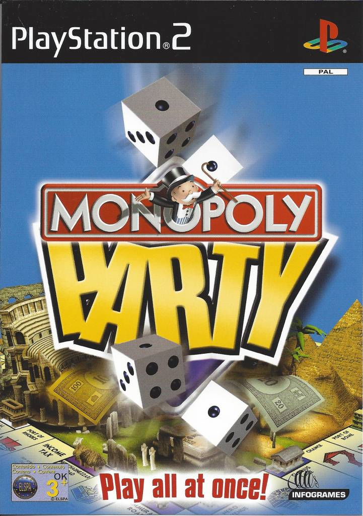 Monopoly party for playstation 2 ps2 passion for games webshop.