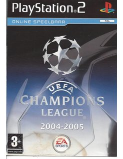 UEFA CHAMPIONS LEAGUE 2004-2005 voor Playstation 2 PS2