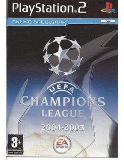 UEFA CHAMPIONS LEAGUE 2004-2005 für Playstation 2 PS2