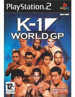 K-1 WORLD GP for Playstation 2 PS2