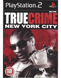 TRUE CRIME NEW YORK CITY voor Playstation 2 PS2