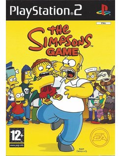 THE SIMPSONS GAME voor Playstation 2 PS2
