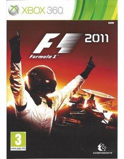F1 FORMULA 1 2011 für Xbox 360
