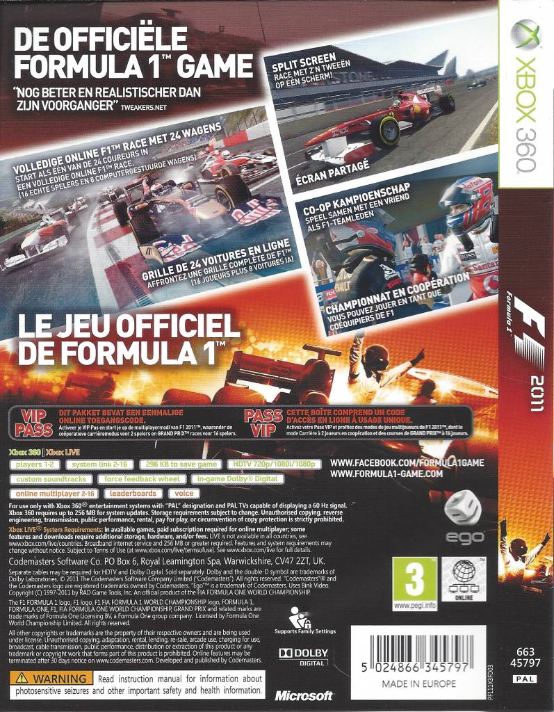 F1 2011 game review: deep enough for fanboys, still fun for.