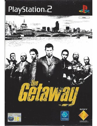 THE GETAWAY for Playstation 2 PS2