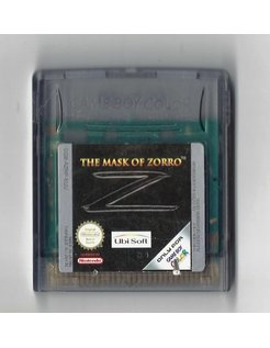 THE MASK OF ZORRO for Nintendo Game Boy Color GBC