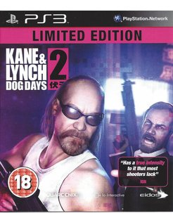 KANE AND LYNCH 2 DOG DAYS for Playstation 3 PS3