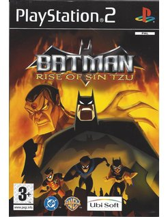 BATMAN RISE OF SIN TZU for Playstation 2 PS2