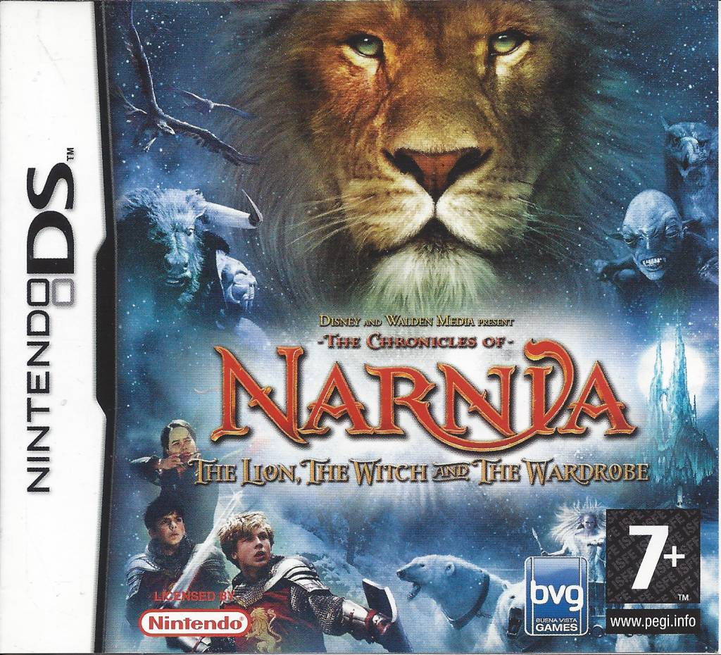 Lion narnia wardrobe and chronicles of witch