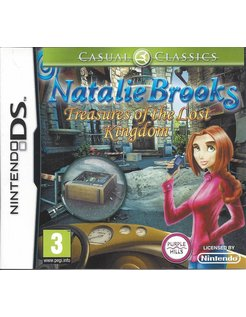 NATALIE BROOKS TREASURES OF THE LOST KINGDOM for Nintendo DS