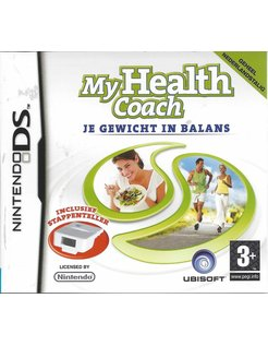 MY HEALTH COACH JE GEWICHT IN BALANS for Nintendo DS