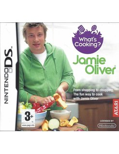 WHAT'S COOKING JAMIE OLIVER for Nintendo DS